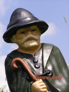 Schäfer Berg Alm Dekofigur Gartenfigur Figur Deko - Vorschau 2