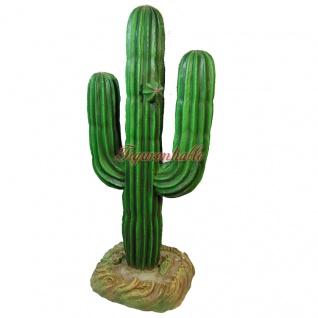 Kaktus Deko Kunst Arizona Indianer Figur