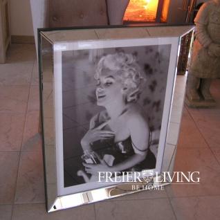 Marilyn Monroe Wandbild Kunstdruck in Rahmen Canel No.5