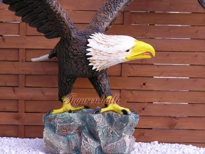 Weißkopf Adler Seeadler Figur Statue Aufstellfigur - Vorschau 4