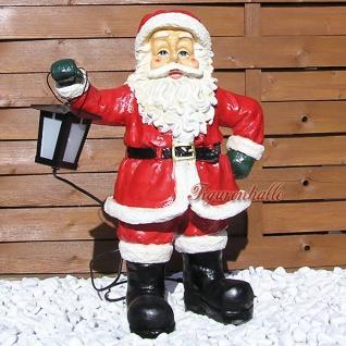 Weihnachtsmann Weihnachts Außendekoration Figur