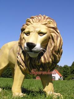 Löwe Dekofigur Afrikanischer Figur Statue Afrika - Vorschau 1