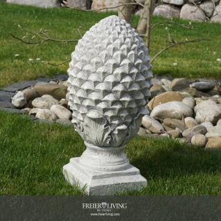 DekO Pinienzapfen Zapfen Figur Statue Ahornzapfen Antik Nostalgie Gartenfigur