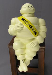 Retro Michelin Mann Mänchen Deko Figur Statue Skulptur