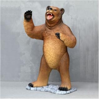 Grizzlybär Stehend als Figur Werbeartikel