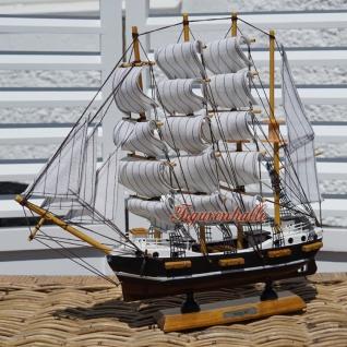 Passat Segelschiffmodell Modell Holz Schiff - Vorschau 2