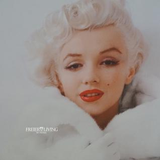 Marilyn Monroe Wandbild Kunstdruck in Spiegel Rahmen - Vorschau 2