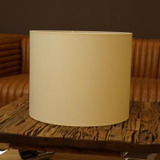 Lampenschirm Hängelampe rund creme beige 45 x 37 cm