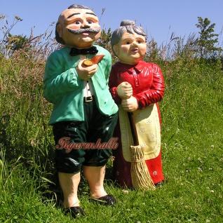 Oma & Opa Stehend - Haus, Hof und Gartendeko