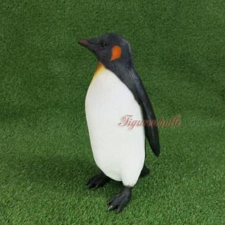 Pinguin Pinguine Figur Statue Skulptur Dekofigur Arktis Königspinguin Deko Vogel