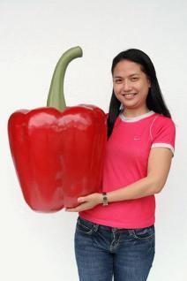 Riesen Paprika Werbefigur oder Aufstellfigur - Vorschau 5
