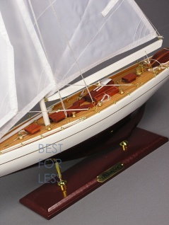 Selgelyacht Schiffsmodell Segelschiffmodel Modell - Vorschau 3