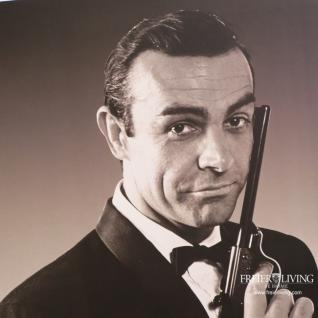 James Bond 007 Jagd Dr. No 1962 Poster in Rahmen Kunstdruck - Vorschau 3