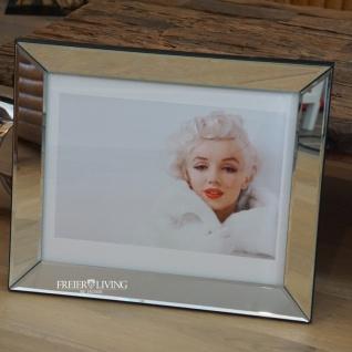 Marilyn Monroe Wandbild Kunstdruck in Spiegel Rahmen