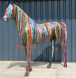 Pferd Modern Statue Kunst Skulptur Pop Art Caf Deko Gartenfigur