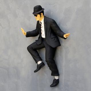 Lebensgroße Blues Brothers Wandfigur Elwood