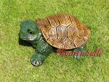 Lustige Gartenschildkröte Schildkröte Deko Garten