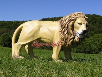 Löwe Dekofigur Afrikanischer Figur Statue Afrika - Vorschau 2