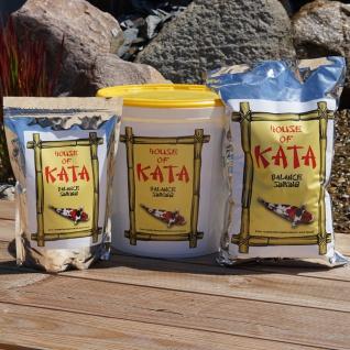 2, 5 ltr Koi Futter Balance Sinking House of Kata Premium Koifutter Fischfutter Winter - Vorschau 2