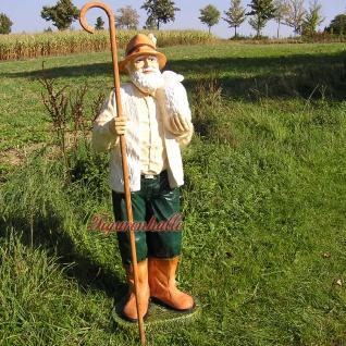 Schäfer Dekofigur Gartenfigur Lebensgroß Figur