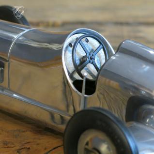 Auto Oldtimer Aluminium Nostalgie Car Figur Deko Retro Indianapolis - Vorschau 3