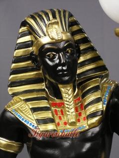 Ägypter Statue Imoteph Leuchter Figur Deko - Vorschau 3