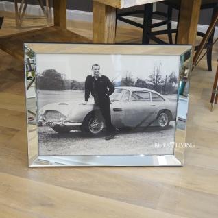 Wandbild Fotografie James Bond 007 Sean Connery Spiegelrahmen Filmplakat 1964