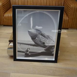 Wandbild Leeward Air Flugzeug Propeller eingerahmt