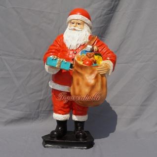 Weihnachtsmann als Figur Dekoration für Weihnachten