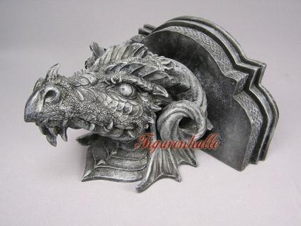 Drachenwandbord im Gothic Style Figur Statue - Vorschau 3