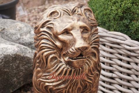 Löwe Dekofigur Bronze Optik - Vorschau 3