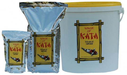 2, 5 ltr Koi Futter Balance Sinking House of Kata Premium Koifutter Fischfutter Winter
