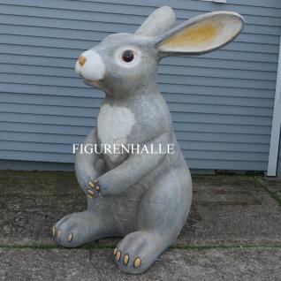 Osterhase Werbefigur DEKORATION Außen- und Innenbereich Garten Hase Ostern