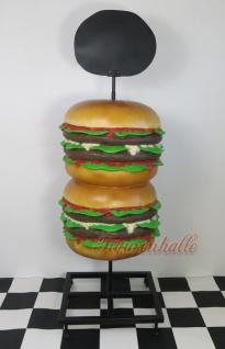 Hamburger Werbefigur Aufstellfigur Schausteller