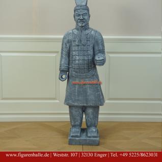 Terrakotta-Armee chinesischer Qin Krieger Kunstbemahlung