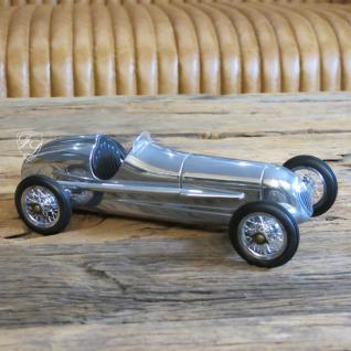Auto Oldtimer Aluminium Nostalgie Car Figur Deko Retro