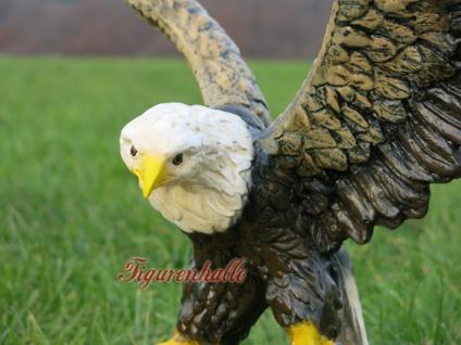 Adler Weißkopf Adler Dekofigur Figur Statue Deko - Vorschau 2