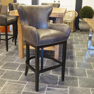 Lehnen Barhocker Bar Stuhl mit Leinen bezug