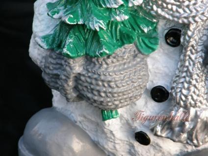 Schneemann Dekofigur Winterfigur Weihnachtsdeko - Vorschau 3