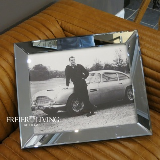 Wandbild klein Fotografie James Bond 007 Sean Connery Spiegelrahmen Filmplakat 1964