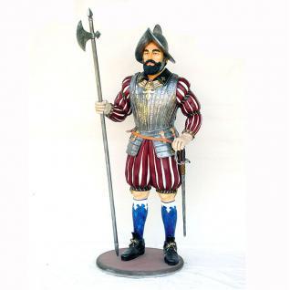 Spanischer Ritter lebensgroß Deko-Figur