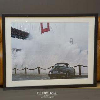 Foto Druck Porsche 356 Wandbild Golden Gate Bridge San Francisco