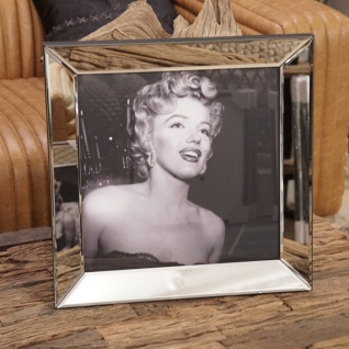 Marilyn Monroe Wandbild Spiegelrahmen Gesicht