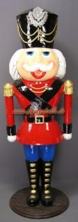 Nussknacker Weihnachtsmann Lebensgroß Figur Statue - Vorschau 2