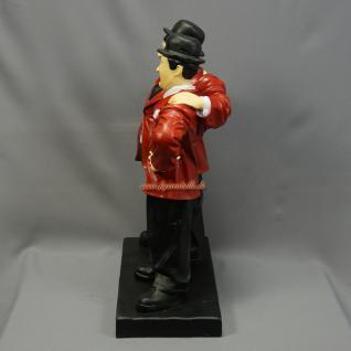 Dick und Doof Figur Arm in Arm rote Jacke Stan und Oliver - Vorschau 4