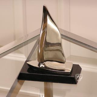 Segelschiff Aluminium Deko Granit Maritim Dekoration - Vorschau 1