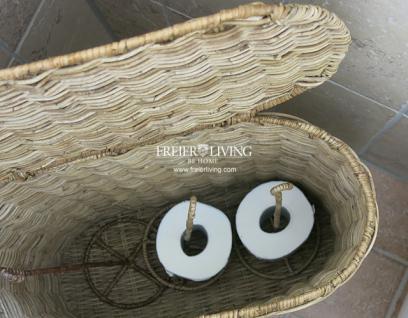 rattankorb korb wc toilettenpapierhalter korb rattan bad deko rollen halter kaufen bei helga. Black Bedroom Furniture Sets. Home Design Ideas