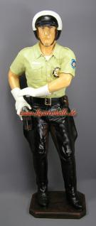 US Cop Figur Aufstellfigur Lebensgroßer Polizist - Vorschau 2