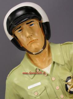 US Cop Figur Aufstellfigur Lebensgroßer Polizist - Vorschau 1