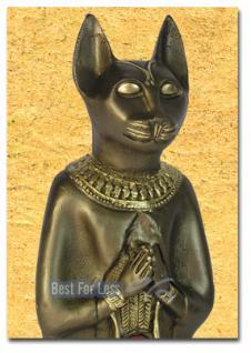 Ägyptische Katze als Aufstellfigur und Dekofigur